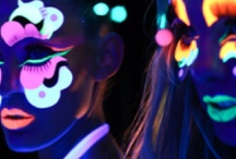 neon & glitter / by Taryn Woods