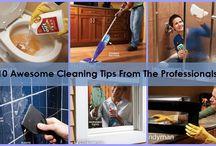 cleaning tips / by Tamera Slugantz