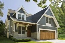 Hardie board houses