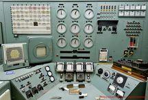 Vintage Control / Salas de control del pasado, antiques control rooms, equipos y sistemas obsoletos
