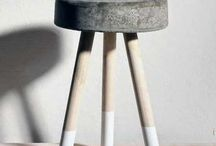 Meubels beton