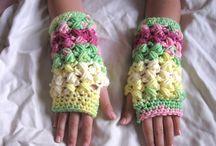 fingerless, mittens