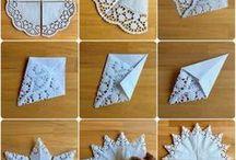 Basteln mit Papier Sterne
