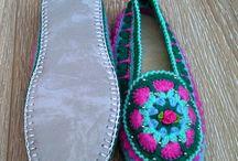 Вязаные тапочки / Slippers knitted тапочки свяжу на заказ любого размера и цвета