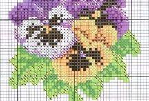 Cross-stitch (etamin)