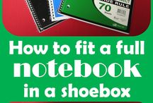 OCC Shoebox Ideas