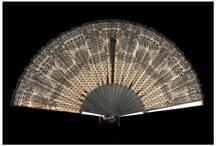 Ventalls. Abanicos. Fan / Ventalls de la col·lecció de puntes del Museu d'Arenys de Mar