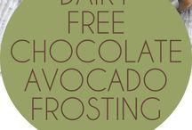 avocado frosting