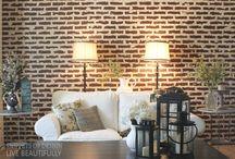 TOP Diy Brick Walls