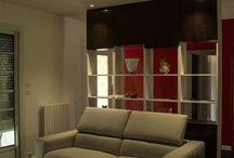 La vie en couleur  / Décoration d'une maison à Artigues prés Bordeaux
