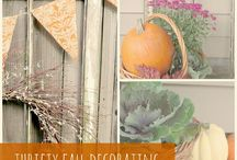 Fall decorating / by Debbie Lewis