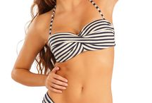 Honey Collection / Wide variety of underwire,bra sized swimwear.  Mix and match to get your desired style!