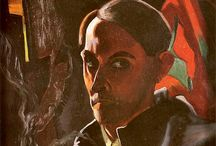 autoportret witkacego moodboard