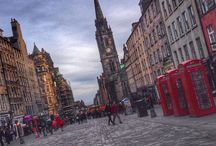 Edinburgh Old Town / The stunning Old Town lends itself incredibly well to photographs.