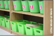 Kindergarten Math Centers / Math center ideas for the kindergarten classroom!