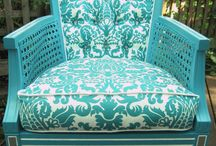 Turquoise Chair & Couch