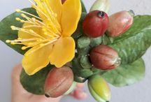 Sugar flowers - I made / I made all of them