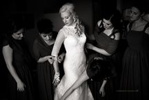 Black and White Wedding Photography / Love of black and white wedding photos.