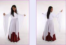 vestidos para coreografia