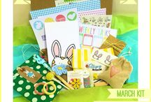Kit #11 - Peekaboo / March Lollipop Box Club
