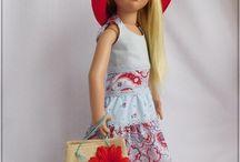 Tenues Originales pour Zwergnase et Ten Ping / Voici de délicieuses tenues originales créées par Magda pour les poupées Zwergnase et Ruby Red !
