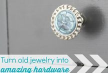 House Adorned / drawer pulls/knobs, wall hooks, push pins, magnets, jars, organizers, cloches