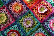 Crafts: Afghan squares / granny squares, afghan squares, circles, hexagons. Basically anything that needs to be pieced together.
