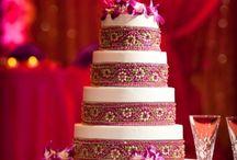 Indian Wedding Cake Designs /  Indian wedding ideas
