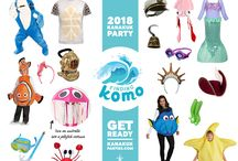 2018 Theme Parties and Costume Ideas