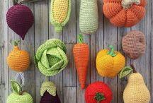 Crochet frutas