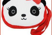 Panda Bags and Backpacks / Cute panda bear tote bags, backpacks, purses, satchels and more.