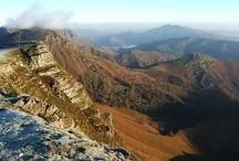 La montagne basque / Photo de la montagne basque. Photos prises au Pays Basque dans de lieux incontournables ou moins connus : Iraty, Urkulu, Harpea,