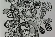 Zentangle - pictures
