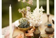 wedding - flowers and decor / by Christy {One Handspun Day}