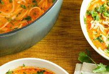 Zuppe di noodles tailandesi