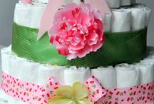 Diaper Cakes/ Baby Shower- DIY / by Kathy Riley