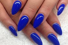 Blue Nails / by Nail Designer