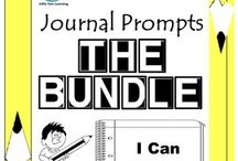 Journal Writing Prompts BUNDLE - Quick Writes / Journal Writing Prompts BUNDLE - Quick Writes. Creative journal writing prompts for everyday for the months of September to May. ************************************************************************ Though your students may not have highly developed writing skills to express their thoughts, they do have bright imaginations filled with all sorts of creative ideas. ************************************************************************