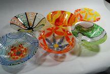 Glass / mal på glas