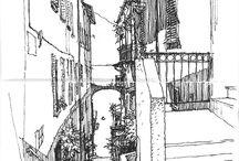 sketch architettura