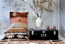 Sitting Rooms & Reading Nooks / Comfy places to sit, read, think, hand sew.