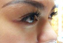 Semipermanent Eyelash Extensions