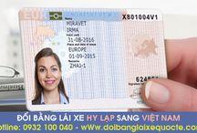 Đổi bằng lái xe Hy Lạp sang Việt Nam