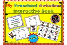 PRESCHOOL LANGUAGE:  SLP Blog Posts & TpT Materials / Everything preschool for language development.