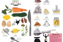 Illustrations │ food & recipe / by Tiffany Huang