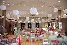 Gymnasium Wedding Reception / Weddings in Gymnasiums!
