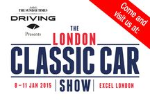 The London Classic Car Show, Excel 8-11th January 2015 / Garageflex were proud to attend this new event in London and can't wait for 2016!