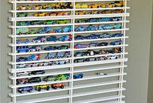Boys Toys organizing ideas