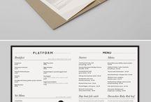 Menu graphic inspiration-client ref