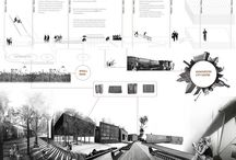 Architecture - design competition boards / by Bailey Brown